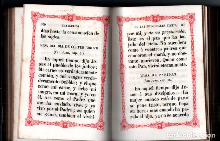 Libros antiguos: LA LUZ DEL CATÓLICO (GARNIER, PARÍS, 1994) DEVOCIONARIO LETRA GRANDE - Foto 4 - 212277707