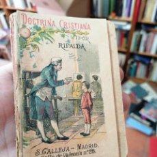 Libri antichi: DOCTRINA CRISTIANA POR RIPALDA. CALLEJA. Lote 212357890