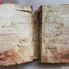 Libros antiguos: NOTICIAS SINGULARISIMAS PARA LOS CONFESORES~SIGLO XVIII~COMPRA P.FRANCISCO COLL S.J EN 1753 - PJRB. Lote 213103986