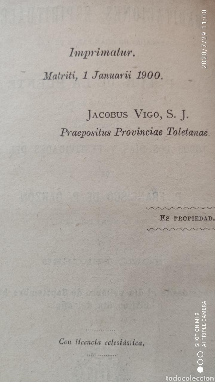 Libros antiguos: MEDITACIONES ESPIRITUALES, TOMO II, 1893 Y III, 1900, LA PUENTE, VER, ÚNICOS - Foto 5 - 213135433