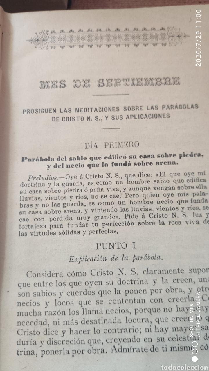 Libros antiguos: MEDITACIONES ESPIRITUALES, TOMO II, 1893 Y III, 1900, LA PUENTE, VER, ÚNICOS - Foto 6 - 213135433