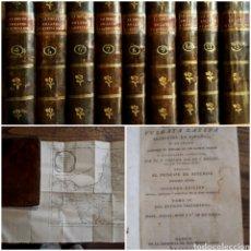 Libros antiguos: BIBLIA VULGATA LATINA BILINGÜE 1795 MUY ANOTADA POR PHELIPE SCIO. 9 TS DEL ANTIGUO TESTAMENTO. MAPAS. Lote 214492083