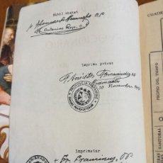 Libros antiguos: MISAL RITUAL LATINO - ESPAÑOL Y DEVOCIONARIO POR D. ELOINO NACAR FUSTER IMP. OBISPADO SALAMANCA 1961. Lote 212944632