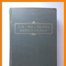 Libri antichi: LA RELIGIÓN DEMOSTRADA P A HILLAIRE. Lote 214546368