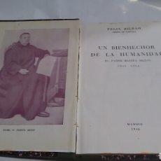 Libros antiguos: BENITO MENNI. 1841-1914 UN BIENHECHOR DE LA HUMANIDAD.. Lote 215512632