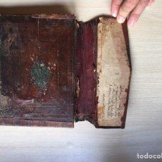 Livres anciens: ANTIGUO LIBRO MANUSCRITO ARABE. ANTIGUE ARAB MANUSCRIPT BOOK.. Lote 215869967