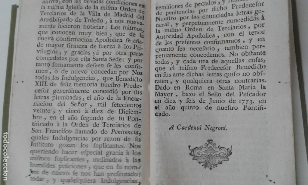 Libros antiguos: MANUAL DE TERCIARIOS NICOLAS ANICETO AÑO 1779 - Foto 4 - 216363052