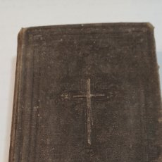 Libros antiguos: OFICIO DE LA SEMANA SANTA Y DE LA PASCUA DE RESURRECCIÓN, SIGLO XIX, VER. Lote 216829967