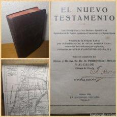 Libri antichi: 1926 - EL NUEVO TESTAMENTO, LA SANTA BIBLIA, D. PRUDENCIO MELO Y ALCALDE. Lote 217130240