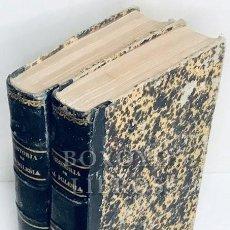 Libros antiguos: MORENO CEBADA, EMILIO. SIGLOS DE CRISTIANISMO. HISTORIA DE LA IGLESIA DESDE SU FUNDACIÓN. 2 TOMOS. Lote 217906843