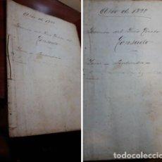 Libros antiguos: LIBRO MANUSCRITO ORIGINAL.SERMON CRISTO DE LA VICTORIA.1898.. LEREZ. PONTEVEDRA. Lote 219684376