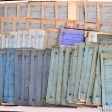 Libros antiguos: LOTE 79 ENTREGAS ANALES DE LA FELICITACIÓN SABATINA A MARÍA INMACULADA - VALENCIA DE 1884 A 1894. Lote 220588955