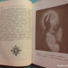 Libros antiguos: MEDITACIONES SOBRE LA SANTÍSIMA VIRGEN MARIA POR RODRÍGUEZ VILLAR - VALLADOLID 1952. Lote 220677986