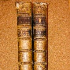 Libros antiguos: AÑO 1767 - JOAQUIN IBARRA - BIBLIA SACRA VULGATAE EDITIONIS - 2 TOMOS (COMPLETA) GRAN TAMAÑO. Lote 178737112