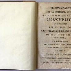 Libros antiguos: EL ESTANDARTE DE LA SANTISSIMA CRUZ DE NUESTRO REDEMPTOR JESU-CHRISTO. - SALES, SAN FRANCISCO DE.. Lote 123243538