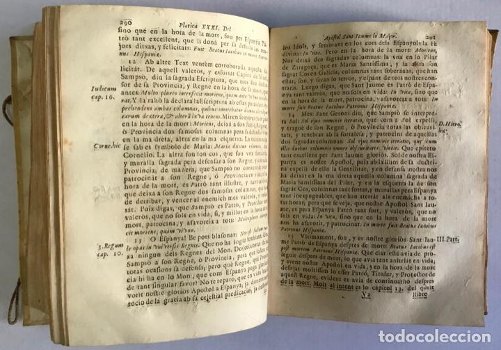 Libros antiguos: CATECHISME PASTORAL, DE PLATICAS PANEGYRICAS, DOCTRINALS, Y ESPIRITUALS. Per totas las festivitats [ - Foto 4 - 123231762