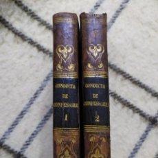 Libros antiguos: 1794. CONDUCTA DE CONFESSORES NO TRIBUNAL DE PENITENCIA. SAN CARLOS BORROMERO.. Lote 221312537