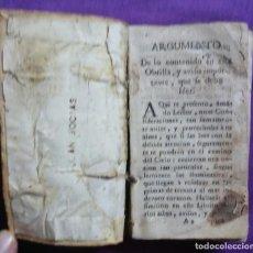 Libros antiguos: CAMINO DEL CIELO...(FALTA 1ª PÁGINA) -S - XVIII -CON MES DE MARÍA, AÑO 1769 -VER DESCRIPCIÓN -PJRB. Lote 221496472