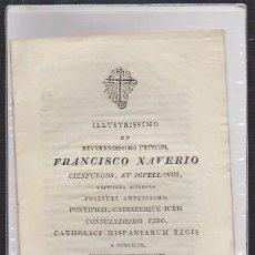 Libros antiguos: FRANCISCO XAVIERO CIENFUEGOS, ET JOVELLANOS - A-CA-2918. Lote 221711180
