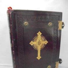 Libros antiguos: MISSALE ROMANUN EX DECRETO SACROSANCTI CONCILLI TRIDENTINI. SSMI D.N. BENEDICTI XV. 1920. Lote 221720102