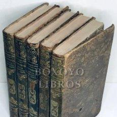 Libros antiguos: CRETINEAU-JOLI. HISTORIA RELIGIOSA, POLÍTICA Y LITERARIA DE LA COMPAÑÍA DE JESÚS. 5 TOMOS. 1853. Lote 222069965