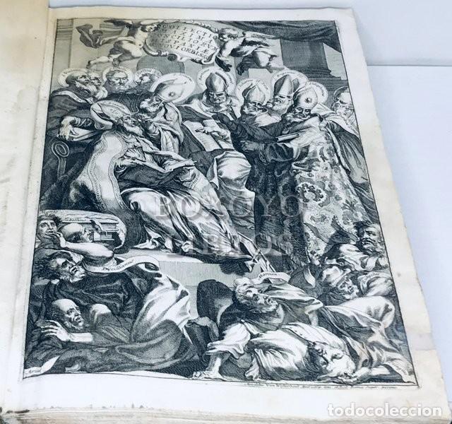 Libros antiguos: SAÉNZ DE AGUIRRE, José. Collectio maxima conciliorum omnium Hispaniae et novi orbis. T. II. 1694 - Foto 3 - 222070011