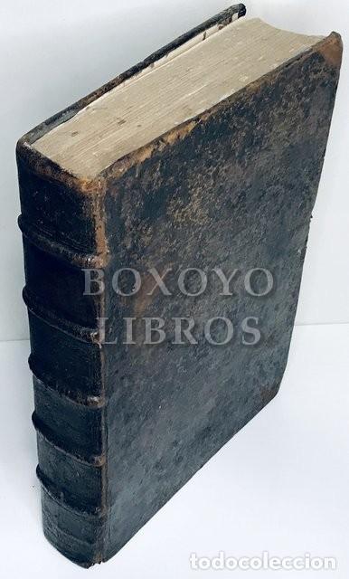 SAÉNZ DE AGUIRRE, JOSÉ. COLLECTIO MAXIMA CONCILIORUM OMNIUM HISPANIAE ET NOVI ORBIS. T. II. 1694 (Libros Antiguos, Raros y Curiosos - Religión)