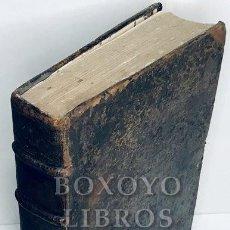 Libros antiguos: SAÉNZ DE AGUIRRE, JOSÉ. COLLECTIO MAXIMA CONCILIORUM OMNIUM HISPANIAE ET NOVI ORBIS. T. II. 1694. Lote 222070011