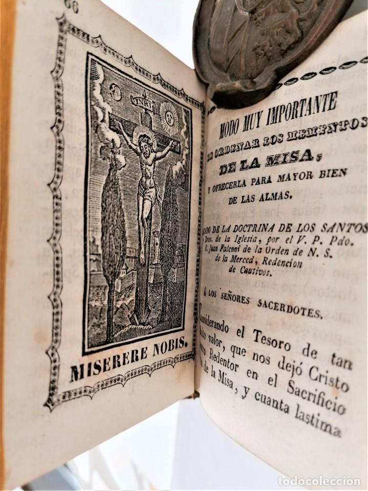 ANTIGUO LIBRO, SIGLO XVIII,PREPARACION PARA LA MISA,MISA DE DIFUNTOS Y OTROS,EN CATALAN Y CASTELLANO (Libros Antiguos, Raros y Curiosos - Religión)