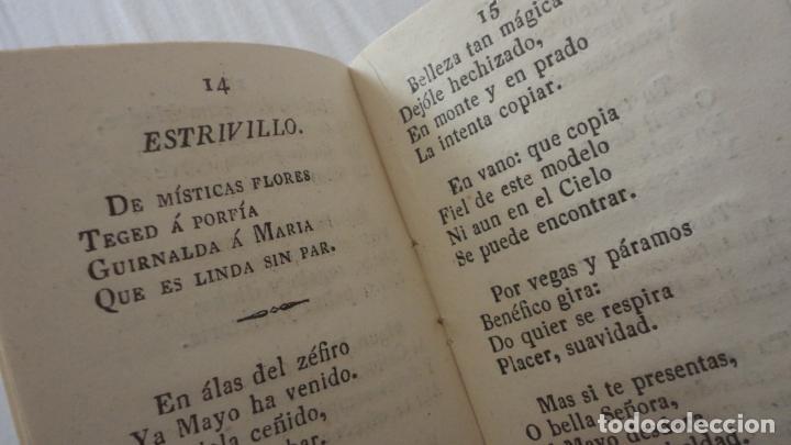 Libros antiguos: CANCIONES Y AFECTOS SAGRADOS A LA SANTISIMA VIRGEN.IMP.JOAQUIN CARO.SEVILLA 1843 - Foto 5 - 222269243