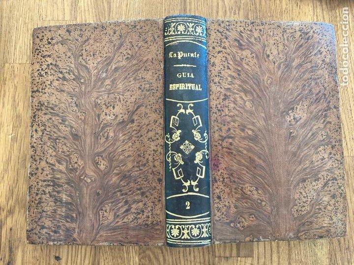 Libros antiguos: GUIA ESPIRITUAL (TOMO SEGUNDO) - PADRE LUIS DE LA PUENTE - 1877 - ENCUADERNADO EN TAPA DURA - Foto 2 - 222626210
