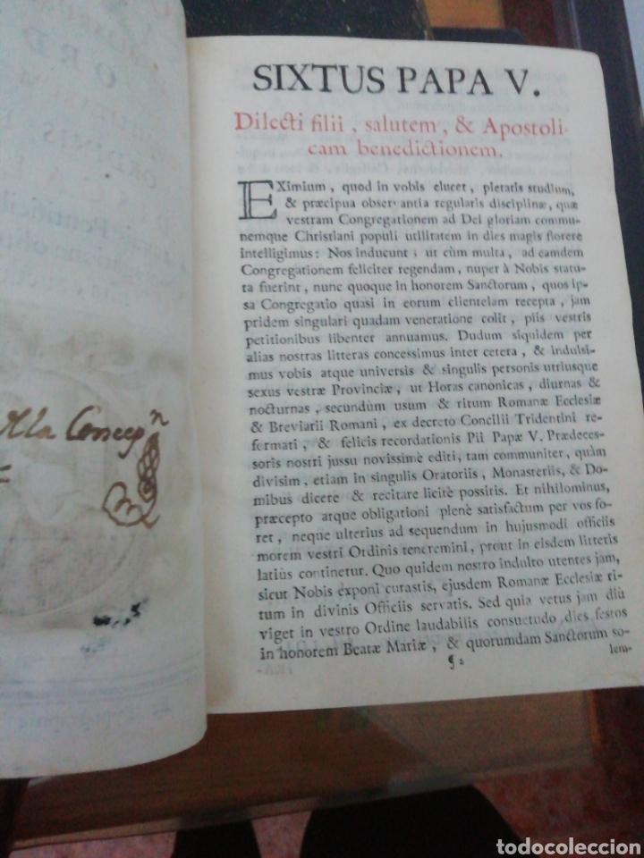 Libros antiguos: Officia Propria Santorum Et Aliarum Festvitatum Carmelitarum Pro Ejusdem Ordinis Fratibus 1782 - Foto 6 - 222627952