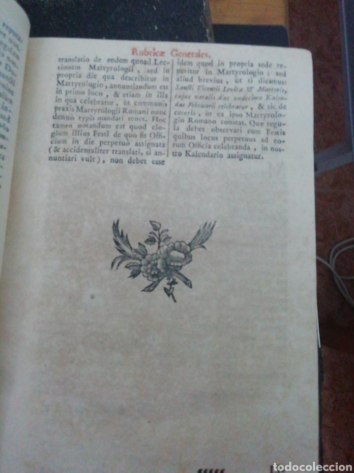 Libros antiguos: Officia Propria Santorum Et Aliarum Festvitatum Carmelitarum Pro Ejusdem Ordinis Fratibus 1782 - Foto 8 - 222627952
