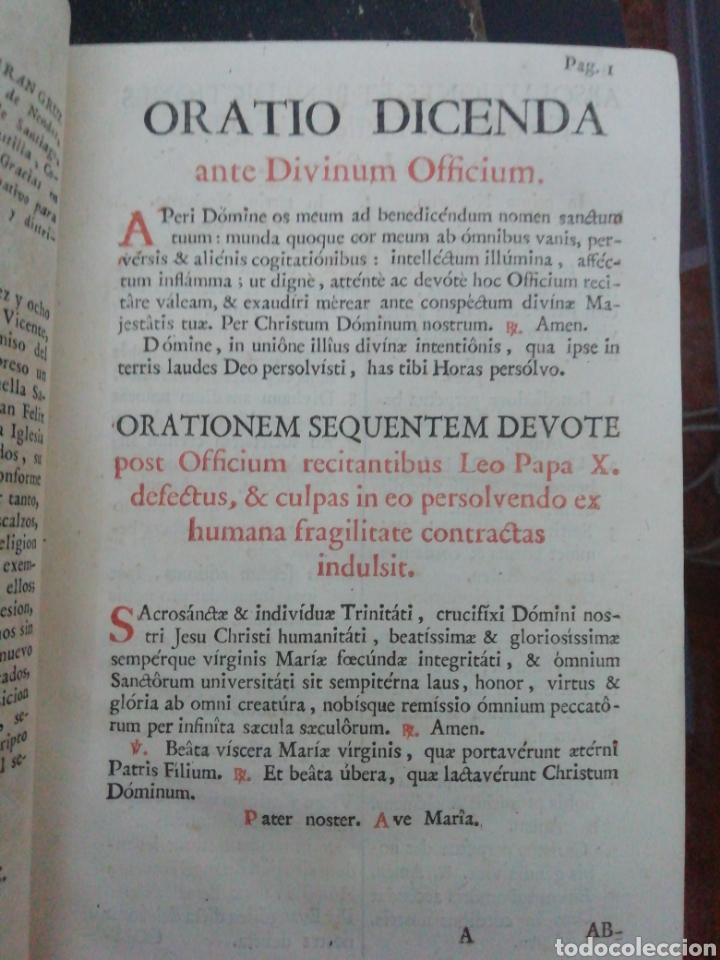 Libros antiguos: Officia Propria Santorum Et Aliarum Festvitatum Carmelitarum Pro Ejusdem Ordinis Fratibus 1782 - Foto 9 - 222627952