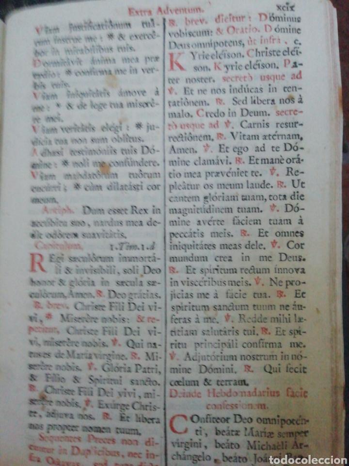 Libros antiguos: Officia Propria Santorum Et Aliarum Festvitatum Carmelitarum Pro Ejusdem Ordinis Fratibus 1782 - Foto 12 - 222627952
