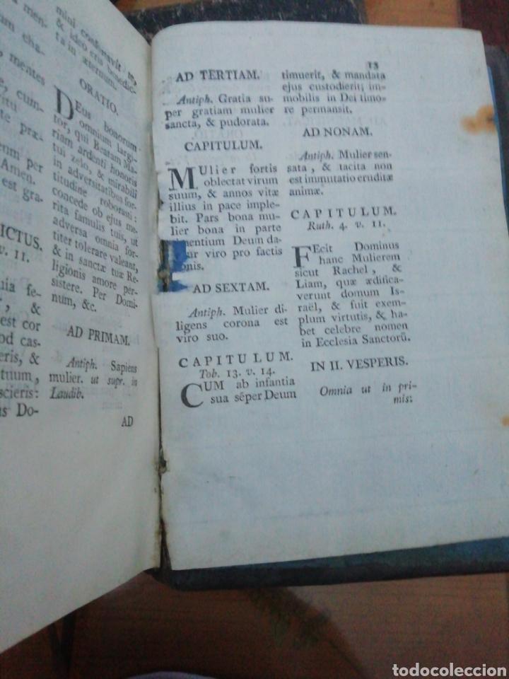 Libros antiguos: Officia Propria Santorum Et Aliarum Festvitatum Carmelitarum Pro Ejusdem Ordinis Fratibus 1782 - Foto 13 - 222627952
