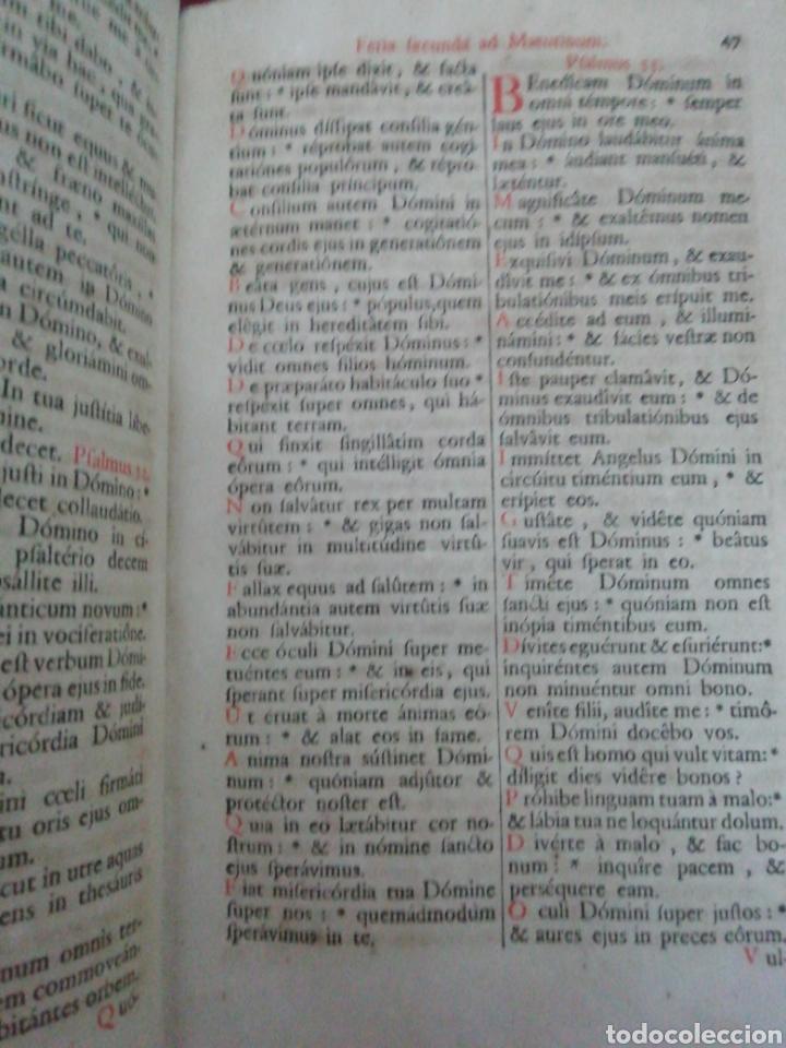 Libros antiguos: Brevarium Romanum Exdecreto Sacro Facti Concilii Tridentini Reftirur Pars Hiemalis 1752 - Foto 8 - 222632675