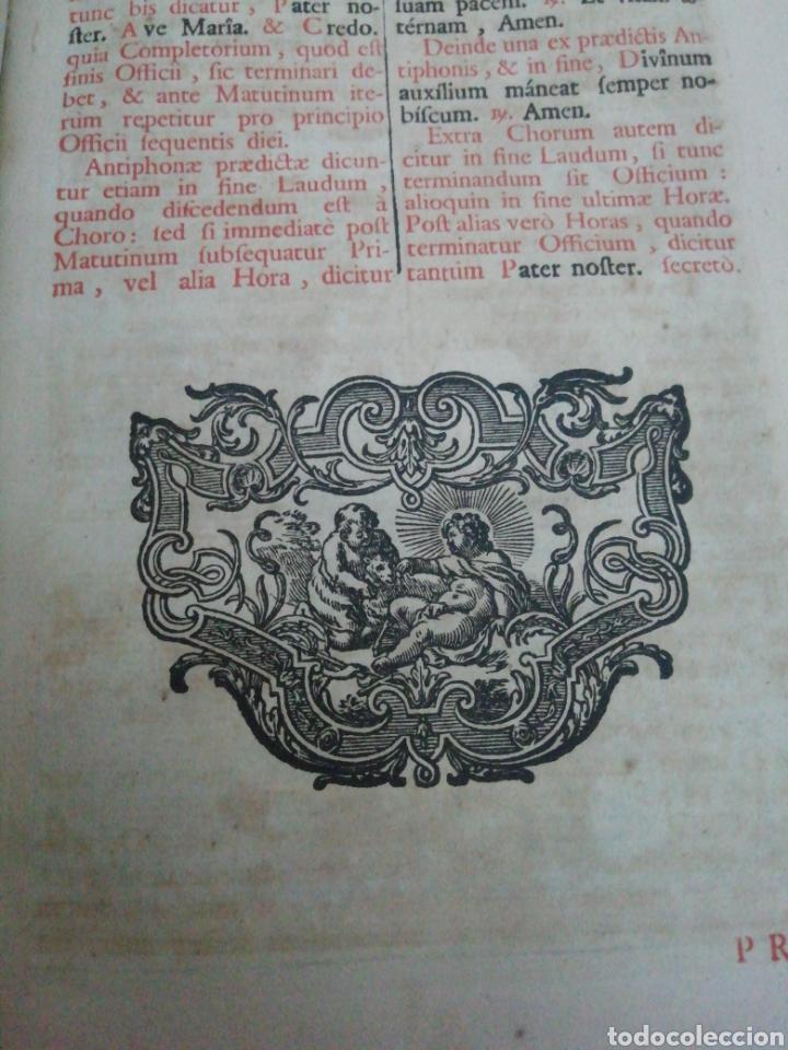Libros antiguos: Brevarium Romanum Exdecreto Sacro Facti Concilii Tridentini Reftirur Pars Hiemalis 1752 - Foto 9 - 222632675
