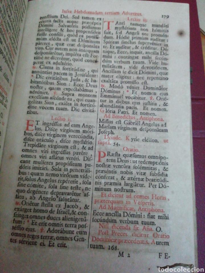 Libros antiguos: Brevarium Romanum Exdecreto Sacro Facti Concilii Tridentini Reftirur Pars Hiemalis 1752 - Foto 11 - 222632675