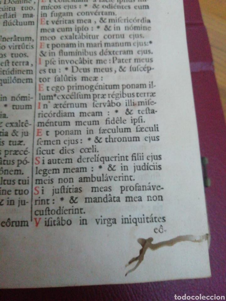 Libros antiguos: Brevarium Romanum Exdecreto Sacro Facti Concilii Tridentini Reftirur Pars Hiemalis 1752 - Foto 12 - 222632675