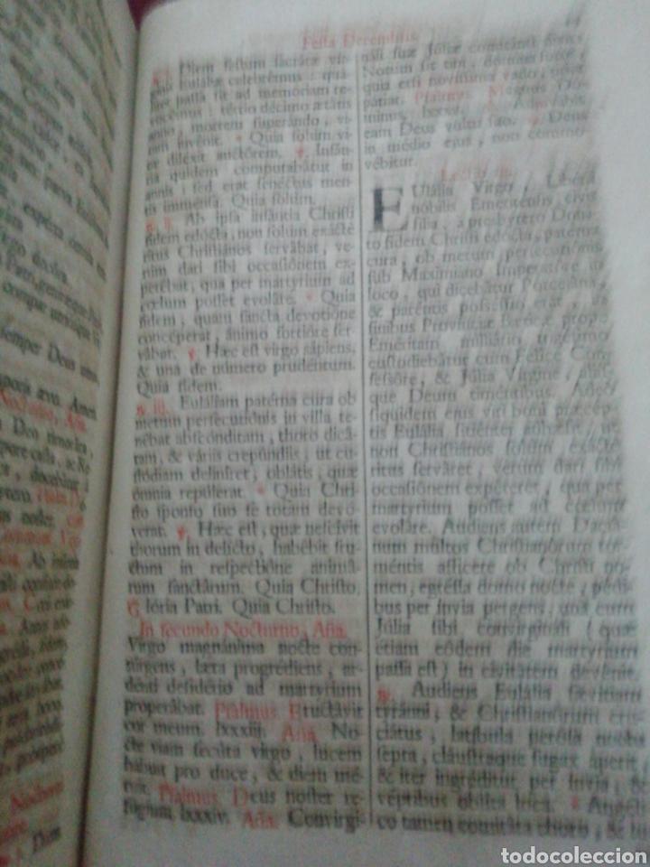 Libros antiguos: Brevarium Romanum Exdecreto Sacro Facti Concilii Tridentini Reftirur Pars Hiemalis 1752 - Foto 13 - 222632675