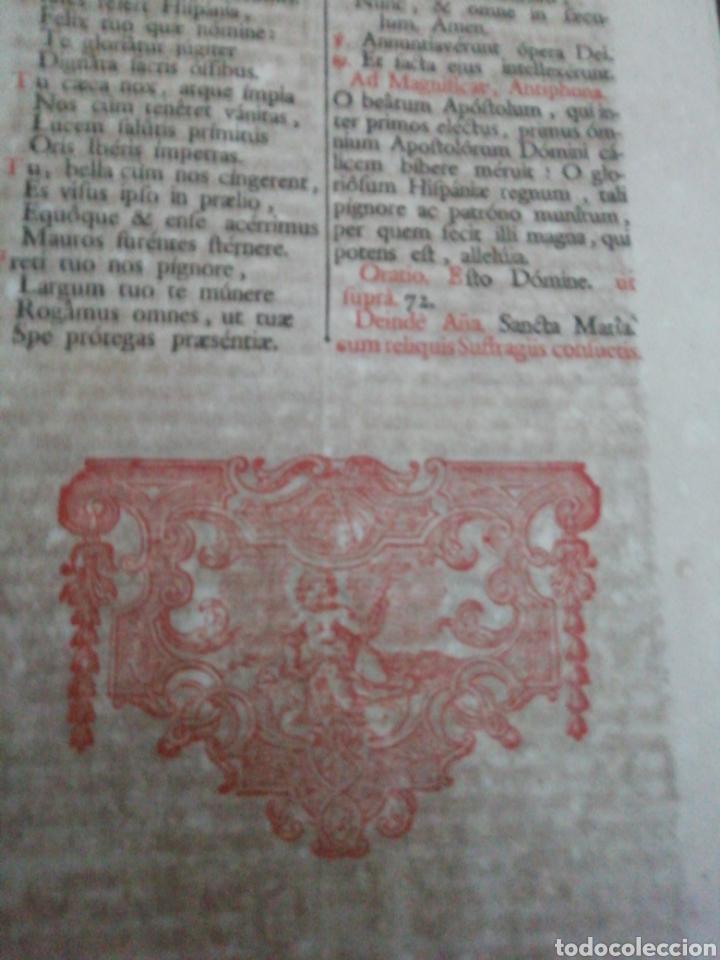 Libros antiguos: Brevarium Romanum Exdecreto Sacro Facti Concilii Tridentini Reftirur Pars Hiemalis 1752 - Foto 14 - 222632675