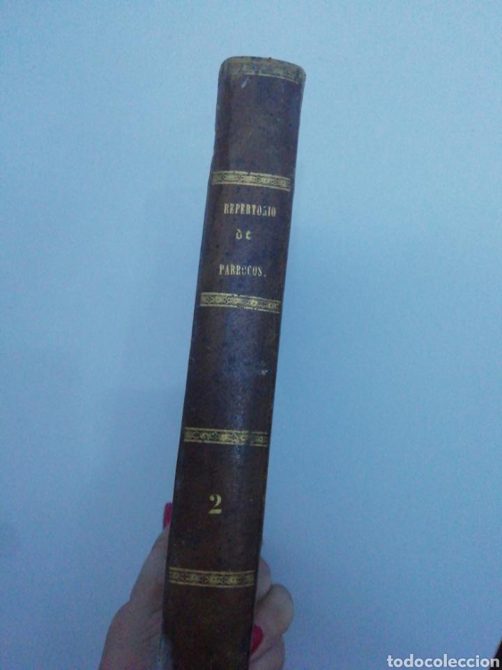 Libros antiguos: Repertorio de Párrocos - Tomo II , Año 1850 - Foto 4 - 222635946
