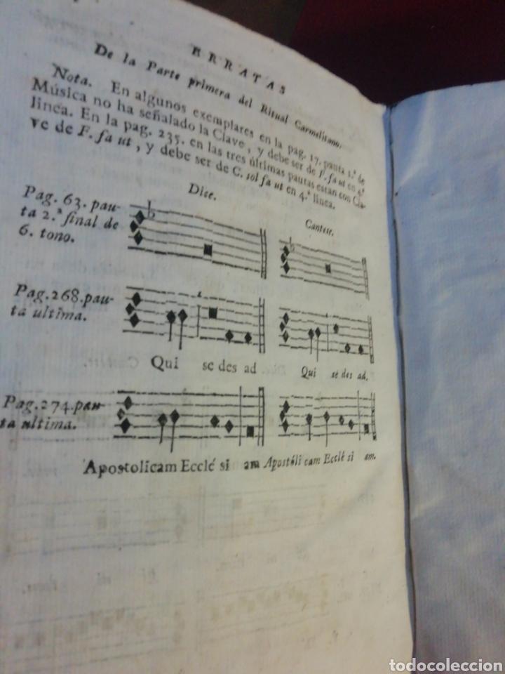 RITUAL CARMELITANO DE LOS RELIGIOSOS Y RELIGIOSAS DE LA ORDEN DE DESCALZOS DE NUESTRA MADRE...(1789) (Libros Antiguos, Raros y Curiosos - Religión)