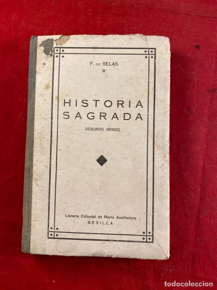 HISTORIA SAGRADA (Libros Antiguos, Raros y Curiosos - Religión)