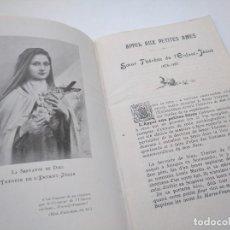 Libros antiguos: APPEL AUX PETITES AMES - VIDA DE DE SANTA TERESITA DEL NIÑO JESÚS. Lote 222923613