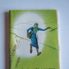 Libros antiguos: EL SEMBRADOR SALIO A SEMBRAR 1960 EL EVANGELIO SEGUN SAN MARCOS MINIATURA SOCIEDAD BIBLICA. Lote 223201261