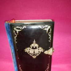 Libros antiguos: MISAL BAQUELITA Y PLATA BARCELONA VIUDA DE MAYOL 1857. Lote 224629346