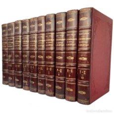 Libros antiguos: 1886 - HISTORIA DE LA IGLESIA, CISMAS, HEREJÍAS, SECTAS, PAPAS, CONCILIOS - MONUMENTAL OBRA COMPLETA. Lote 225268895