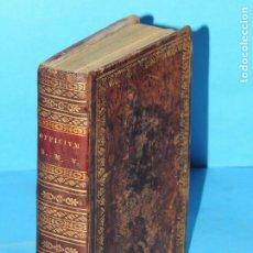 Libros antiguos: OFFICIUM HEBDOMADAE SANCTAE JUXTA RITUM SACRI ORDINIS ... - FR. JOANNIS THOMAE DE BOXADORS. Lote 225319901